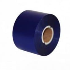 Риббон текстильный 100*200мм Синий матовый