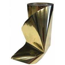 Риббон золото металлик ПРЕМИУМ 100мм*200м.