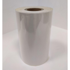 Риббон текстильный Белый матовый 100мм*300м