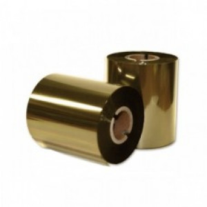Риббон золото металлик ЭКОНОМ 100мм*200м.