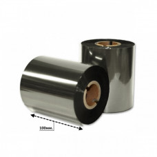 Риббон серебро металлик R 100мм*200м.