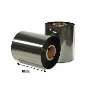 Риббон серебро металлик 100мм*200м.