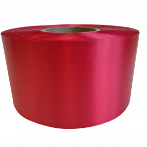 Сатин ярко-красный Премиум 100мм х 200м
