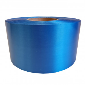 Сатин ярко-синий