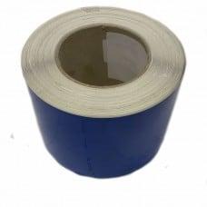 Винил синий глянцевый 100 мм x 50 м - УТИЛИЗАЦИЯ