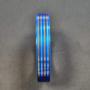 Лента многополоска синий УТИЛИЗАЦИЯ