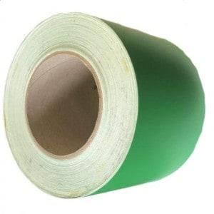 Винил зелёный 100мм намотка 50м.
